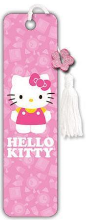 Hello Kitty - School Collector's Beaded Bookmark