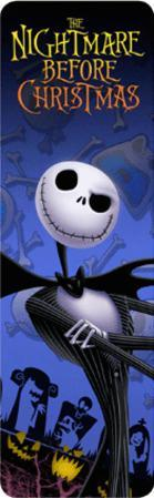 Nightmare Before Christmas - Jack 3-D Bookmark