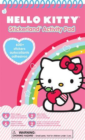 Hello Kitty Stickerland Activity Pads 16 Pages