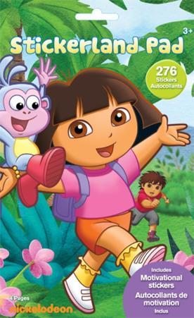 Dora the Explorer Stickerland Stickers