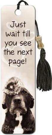 Just Wait Until You See Beaded Bookmark