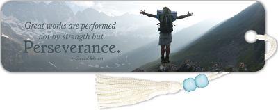 Inspirational - Perseverance Beaded Bookmark