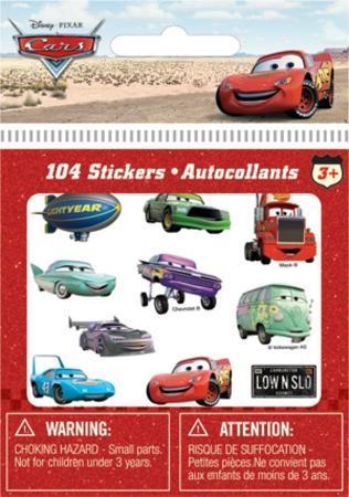 Cars Bitty Bits Stickers