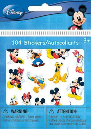 Mickey Mouse Bitty Bits Stickers