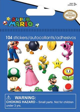 Nintendo Bitty Bits Stickers