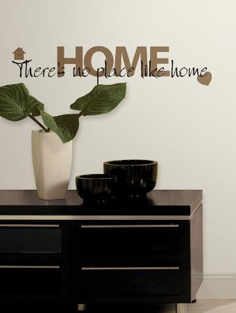No Place Like Home Peel & Stick Wall Decals