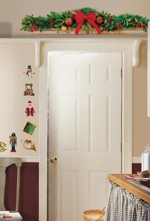 Holiday Swag Peel & Stick Wall Decals