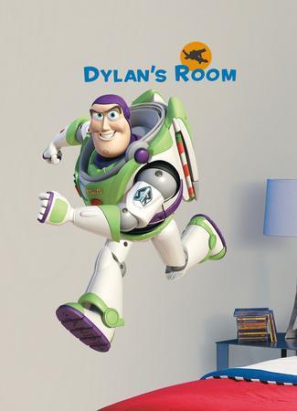 Toy Story Buzz Peel & Stick Giant Wall Decal w/PZ