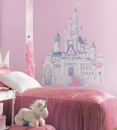 Disney Princess - Princess Castle Peel & Stick Giant Wall Decal