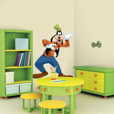Mickey & Friends - Goofy Peel & Stick Giant Wall Decal