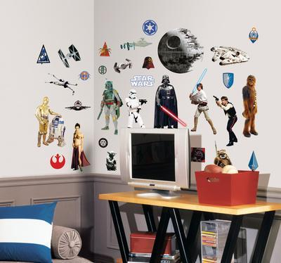 Star Wars Classic Peel & Stick Wall Decals