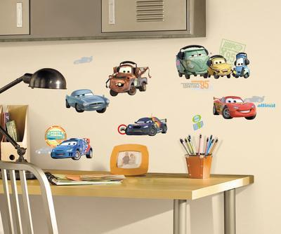 Cars 2 Peel & Stick Wall Decals