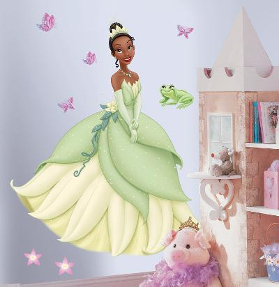 Princess & Frog - Tiana Peel & Stick Giant Wall Decal