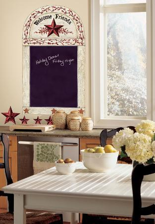 Country Chalkboard Peel & Stick Wall Decals