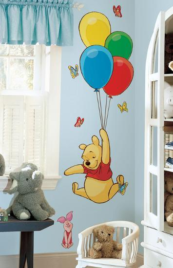 Winnie The Pooh Pooh Amp Piglet Peel Amp Stick Giant Wall Decal Wall Decal At Allposters Com