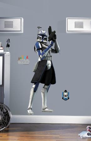Star Wars - Clone Trooper Peel & Stick Giant Wall Decal