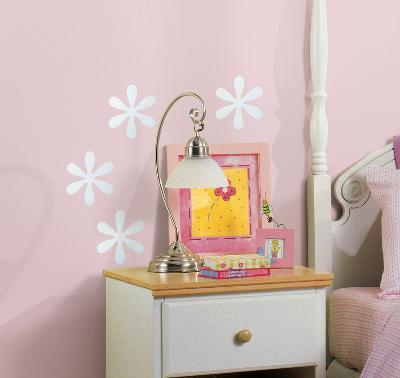 Flower Peel & Stick Mirror (Small - 4 pieces)