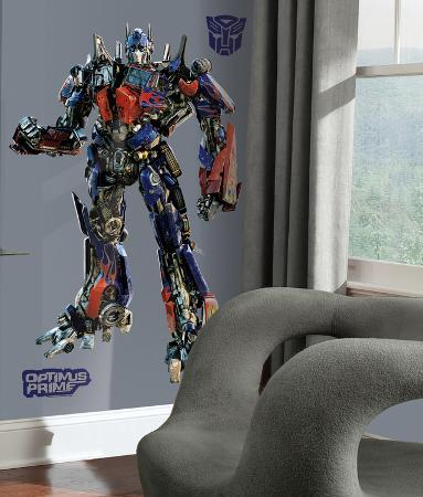 Transformers Peel & Stick Giant Wall Decals