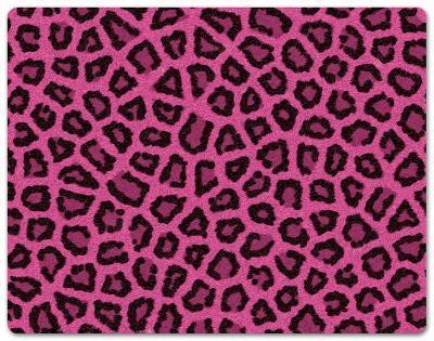 Pink Fur Peel & Stick Laptop Wear