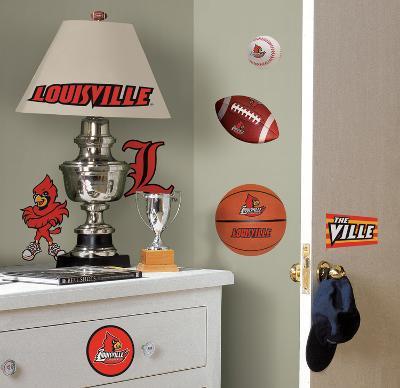 University of Louisville Peel & Stick Wall Decals