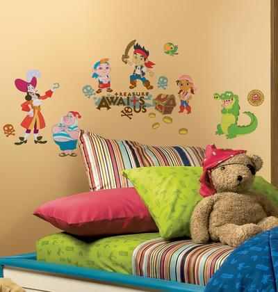 Jake and the Neverland Pirates Peel & Stick Wall Decals