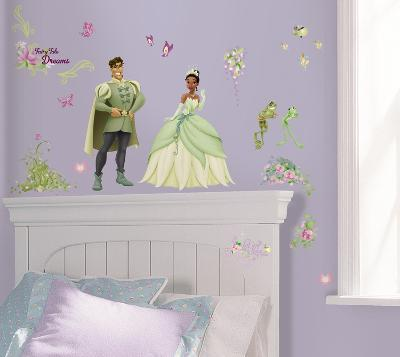 Princess & Frog Peel & Stick Wall Decals