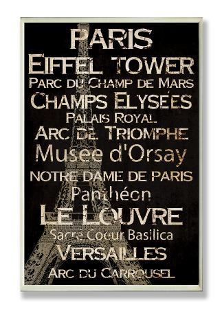 Paris Cities & Words