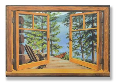 Cabin/Lake View Window