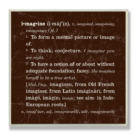 what is the definition of imagine
