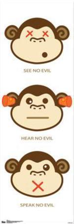 Monkeys - See Hear Speak No Evil