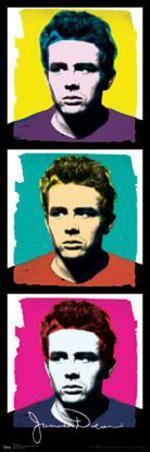 James Dean - Colors Pop Art