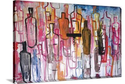Abstract Liquor Bottles