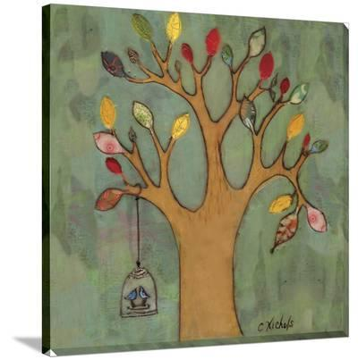 Birdcage on Tree