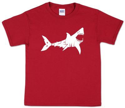 Youth: Shark 'Bite Me' Word art