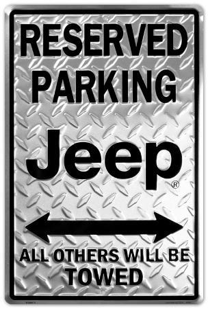 Jeep Reserved Parking