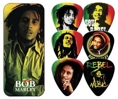 Bob Marley - Rasta Guitar Picks