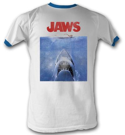 Jaws - Poster Blue Ringer