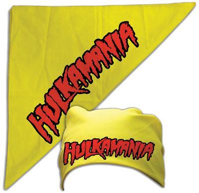 Hulk Hogan - Hulkamania Bandana