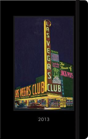 Las Vegas Vintage Postcard - 2013 Planner