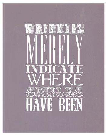 Wrinkles Merely Indicate