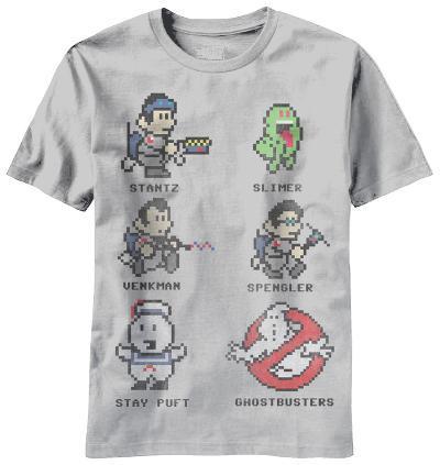 Ghostbusters - 8 Bit Busters (Slim Fit)