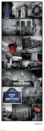 Paris - Collage
