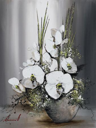 Univers d'Orchide?es Blanches I