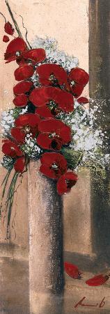 Bouquet d'Orchide?es Rouges I