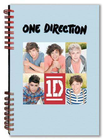 One Direction - 5 Head Shots Notebook