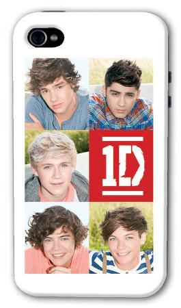 One Direction - 5 Head Shots iphone 4/4S Case