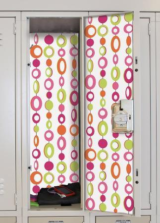 Beaded Curtain Peel & Stick Locker Skins