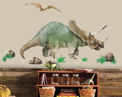 Dinosaur Peel & Stick Giant Wall Decal