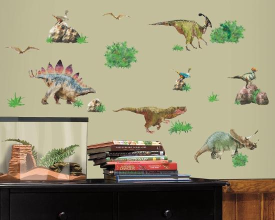 Dinosaur Peel & Stick Wall Decals Wall Decal At AllPosters.com