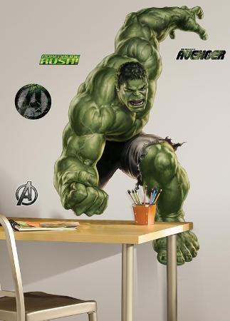 Avengers - Hulk Peel & Stick Giant Wall Decal
